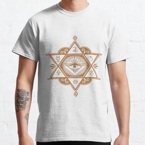 #Mystic #Symbols #Magic #Circle Occult symbols Esoteric | Etsy Classic T-Shirt
