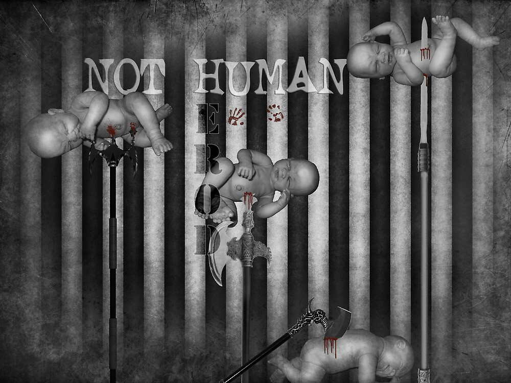 THOSE LITTLE FUCKERS AIN'T HUMAN by darkvampire