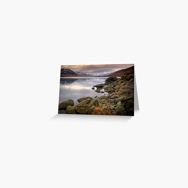 Loch Arklet , Trossachs Greeting Card