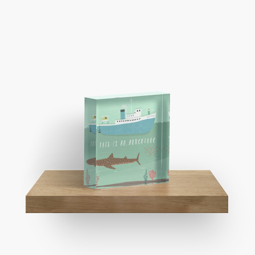 The Belafonte Acrylic Block