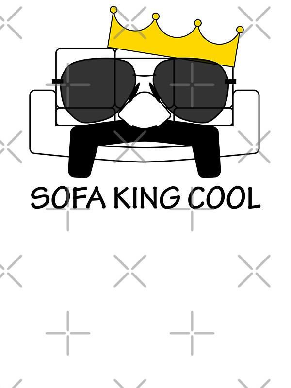 Sofa King Cool Stickers By Pyrotechnic Redbubble