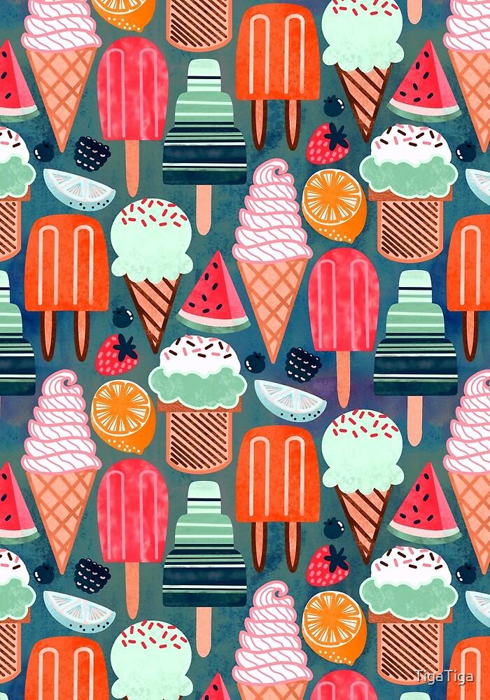 Yum-Summer Ice Cream (Warm)  by TigaTiga