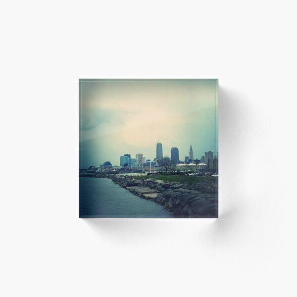 Cleveland  Acrylic Block