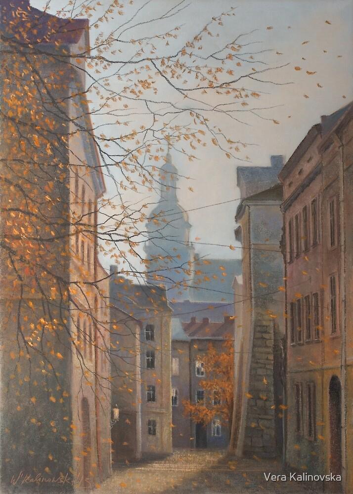 Place In Old City by Vira Kalinovska