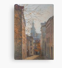 Place In Old City Metal Print