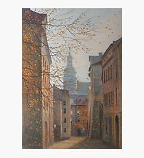 Place In Old City Photographic Print