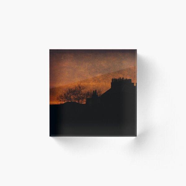 Lum Stack Sunset Acrylic Block