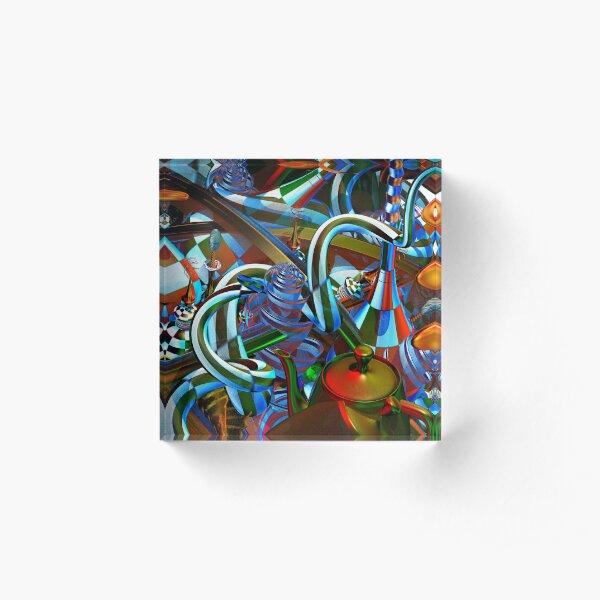 Psychedelic Acrylic Block