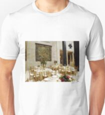 Fine Dining Area of Nelson Atkins Museum Unisex T-Shirt