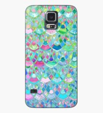 Art Deco Watercolor Patchwork Pattern 2 Case/Skin for Samsung Galaxy