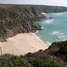 Porthcurno - Cornwall (5868) by Tony Payne