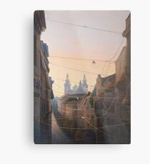 Networks of Fates Metal Print