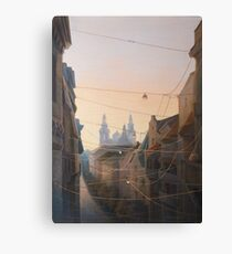 Networks of Fates Canvas Print