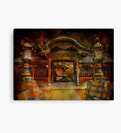 The gate to paradise Canvas Print