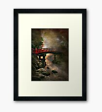 Bridge in Japan Framed Print