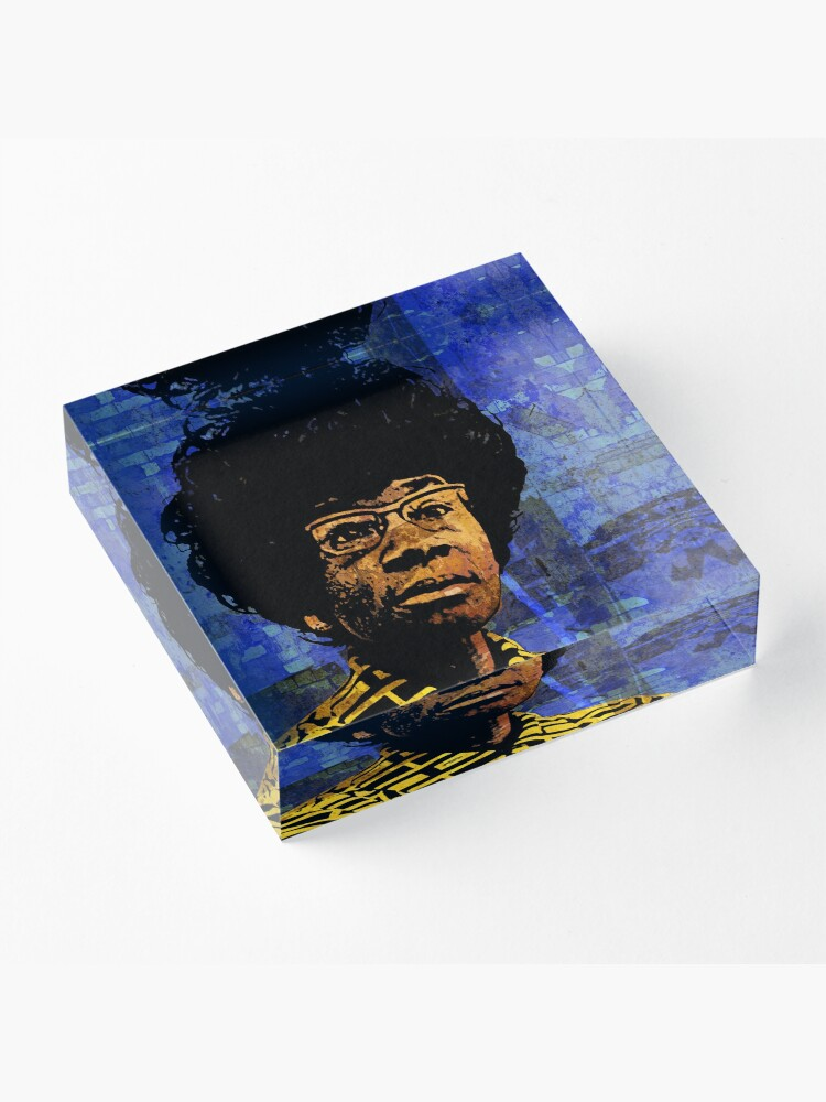 Alternate view of SHIRLEY CHISHOLM-9 Acrylic Block