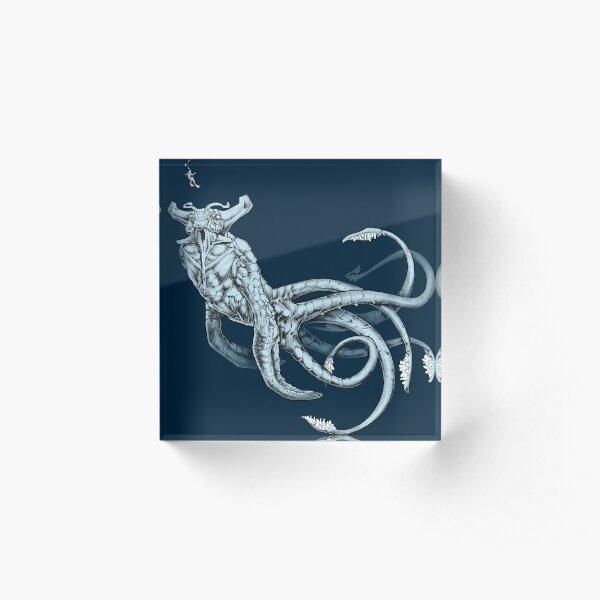 Sea Emperor Transparent Acrylic Block