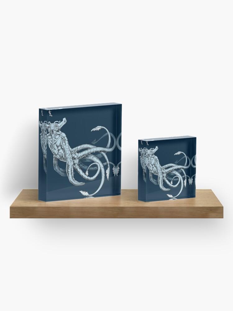 Alternate view of Sea Emperor Transparent Acrylic Block