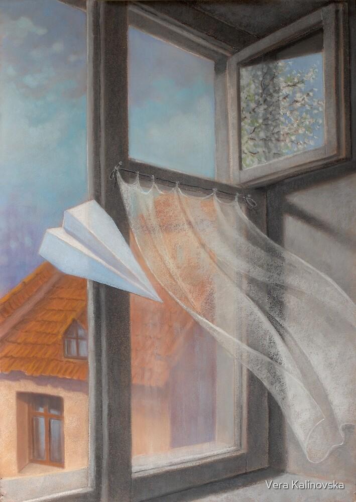 Spring sensation by Vira Kalinovska