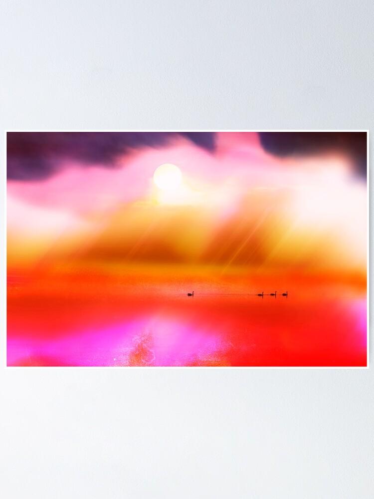 Alternate view of Swan Dreaming #2 Poster