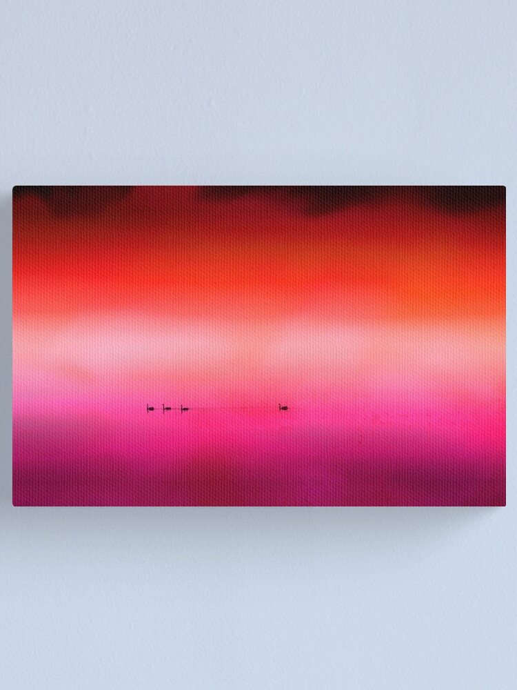 Alternate view of Swan Dreaming #3 Canvas Print