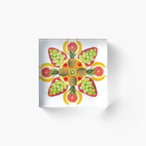 Pina-Collaga Mandala Acrylic Block