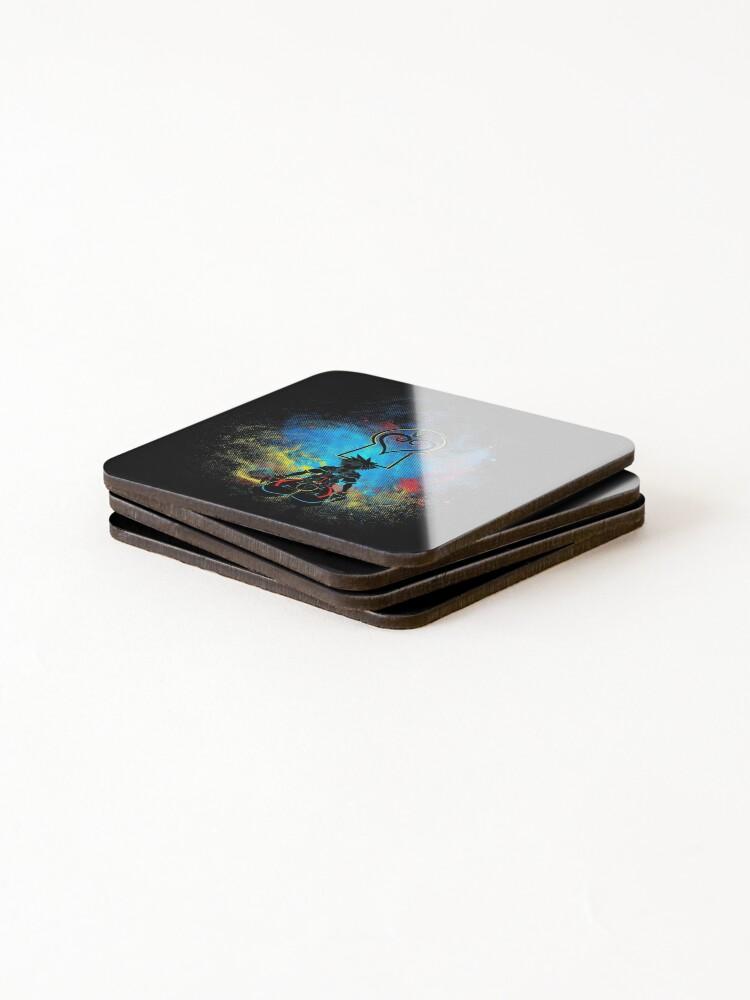 Alternate view of Kingdom Art Coasters (Set of 4)