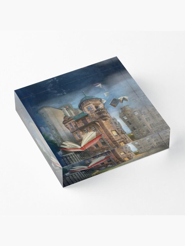 "Alternate view of ""Writers' Museum"" Acrylic Block"