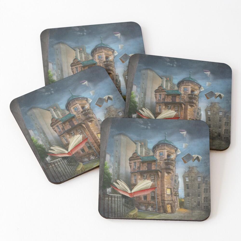 """Writers' Museum"" Coasters (Set of 4)"