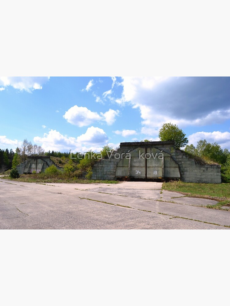 Fortified airplane hangars in former military area by Trin4ever