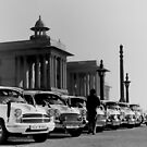 new delhi. old cars. india by tim buckley | bodhiimages