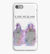 A Writer & His Muse iPhone Case/Skin