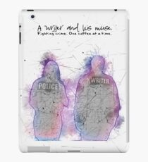 A Writer & His Muse iPad Case/Skin