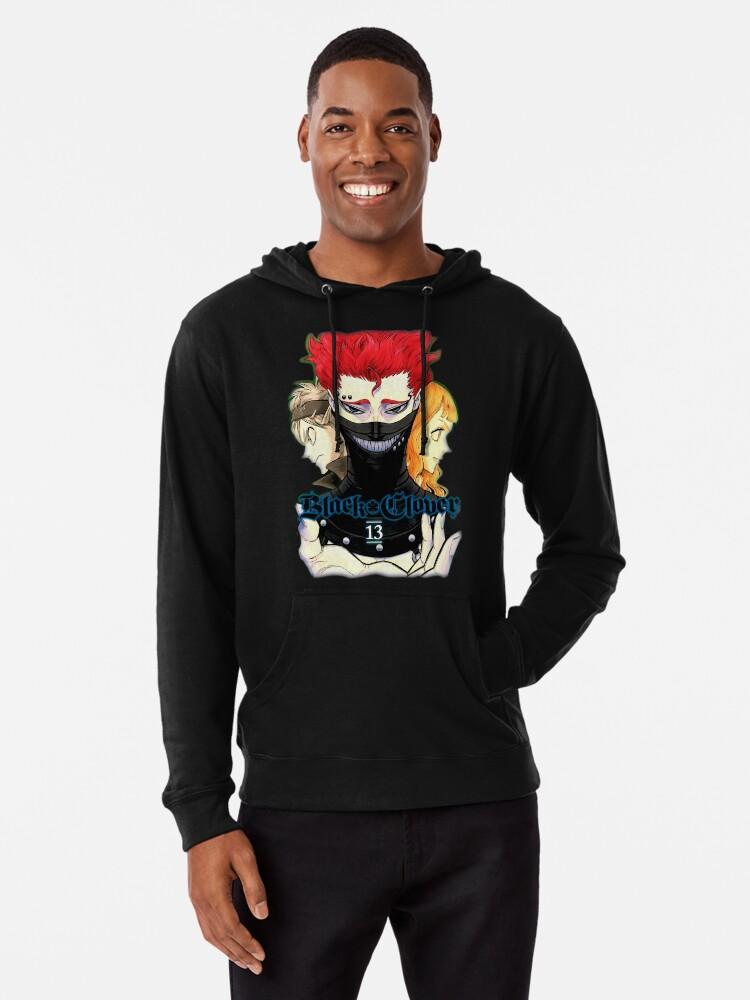 Black Bulls Magic Knight Zora Black Clover Anime Men Women Unisex Hoodie