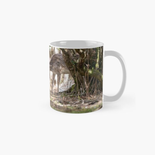 brotherly love between two deer Classic Mug