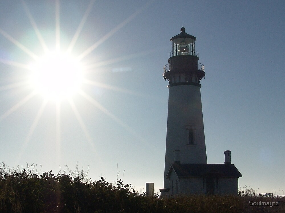Yaquina Head Lighthouse by Soulmaytz