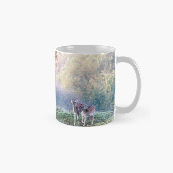 Autumn deer in the forest Classic Mug