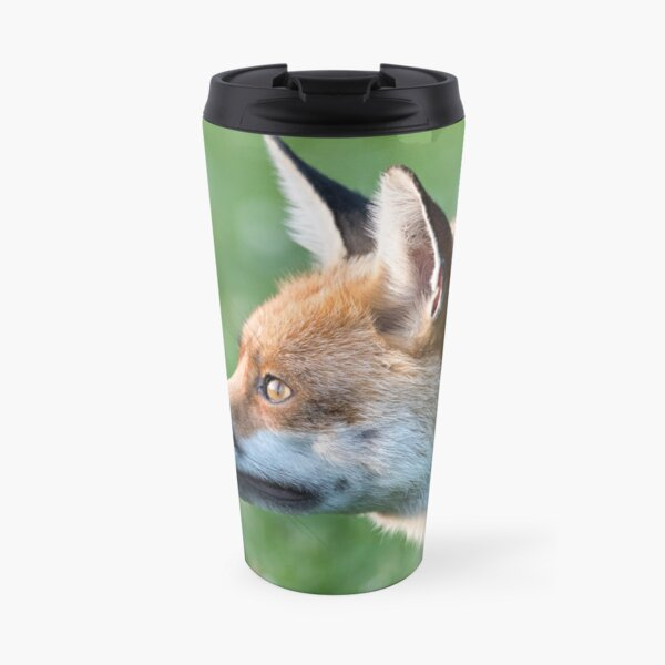 Staring fox Travel Mug