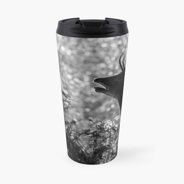 Fallow deer buck calling Travel Mug