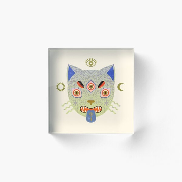 Mystic Cat Acrylic Block