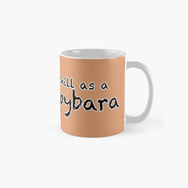 Chill as a Capybara (Tan) Classic Mug