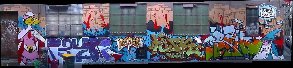 melbourne graffiti 108 by Joseph Barrows