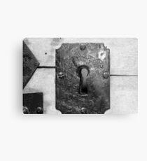 Through the keyhole Metal Print