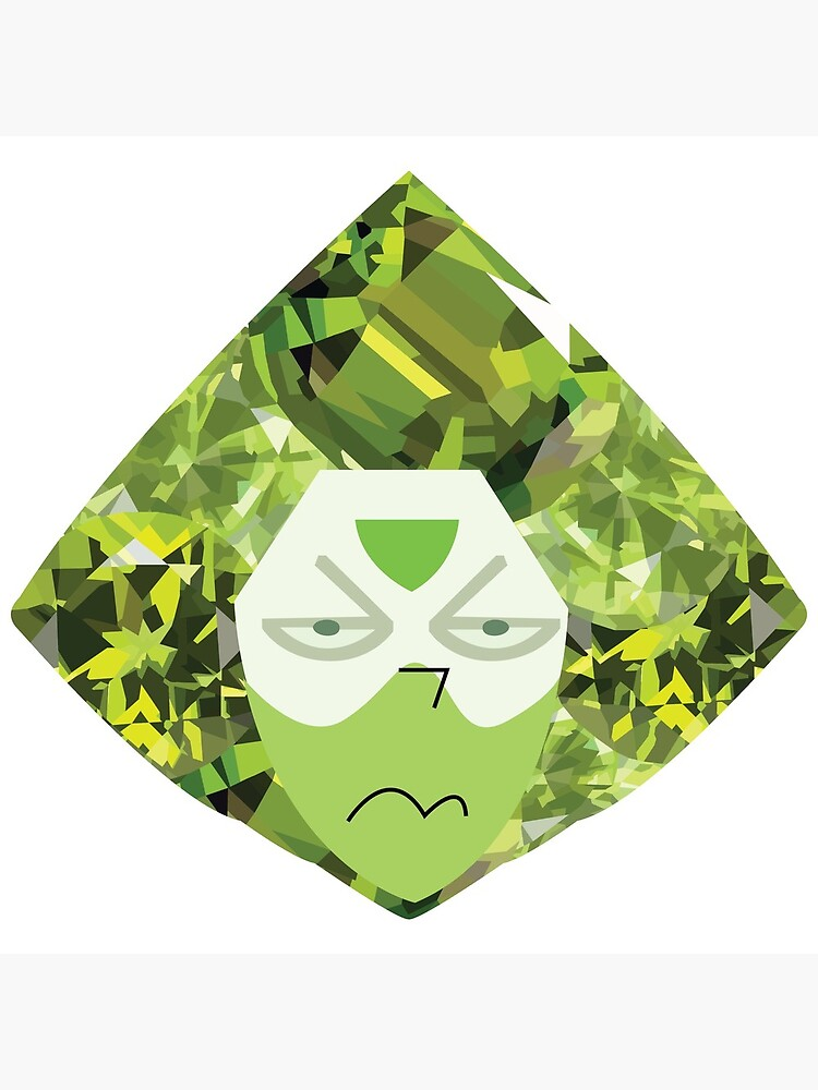 Crystallized Peridot by aecdesign