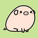 Cute piggy by peppermintpopuk
