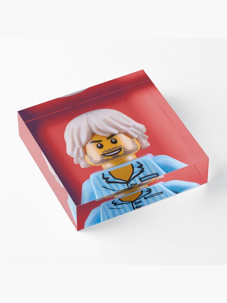 Alternate view of Kurt Cobain Portrait Acrylic Block