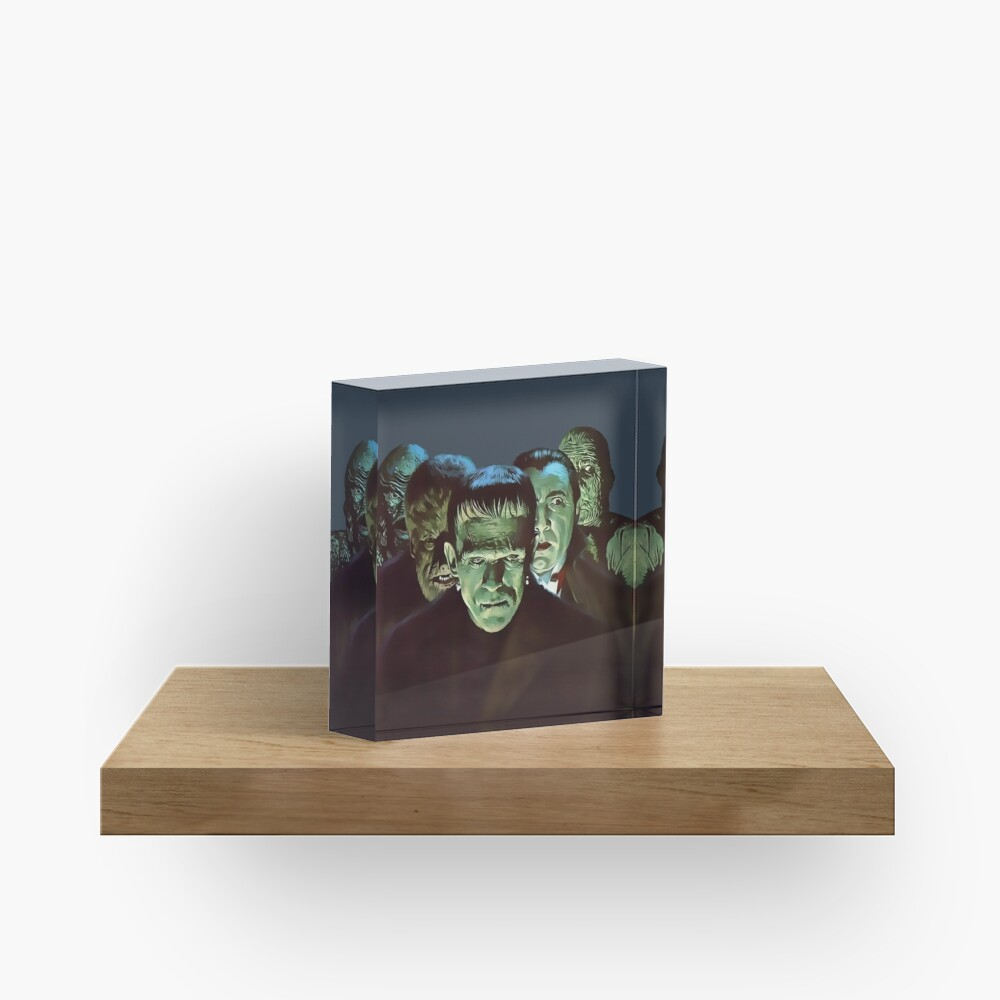 Gang of Monsters  Acrylic Block