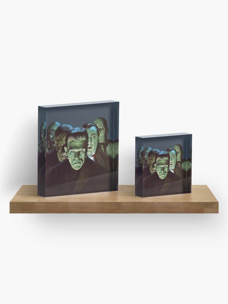 Alternate view of Gang of Monsters  Acrylic Block