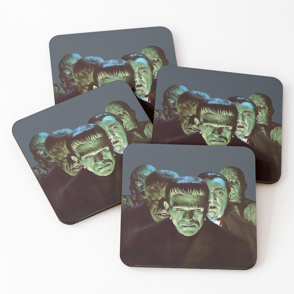 Gang of Monsters  Coasters (Set of 4)