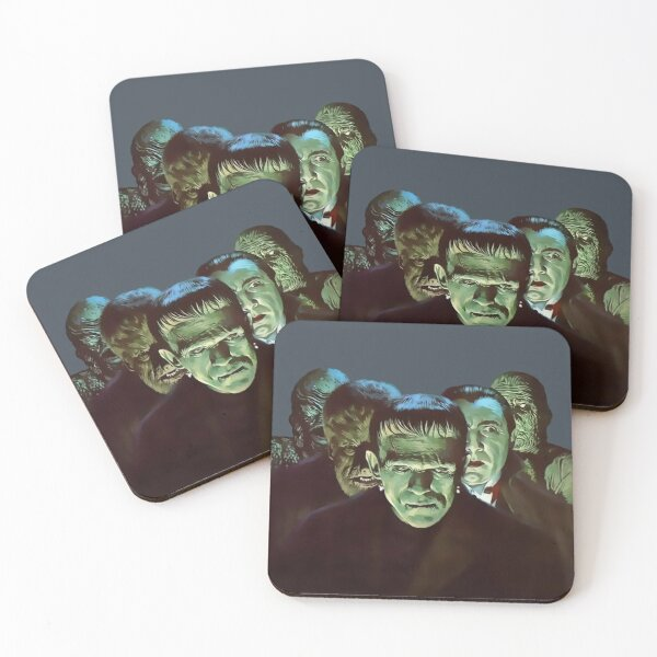Gang of Monsters  Coasters (Set of 4)